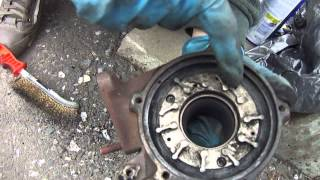 Турбо.AUDI A6 C5.Ремонт турбины.Чистка геометрии.Repair of turbine