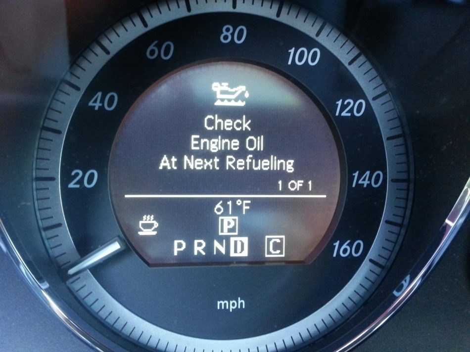 Следим за давлением…масла в двигателе!