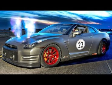 FIRE Breathing 2100hp Nissan GT-R!